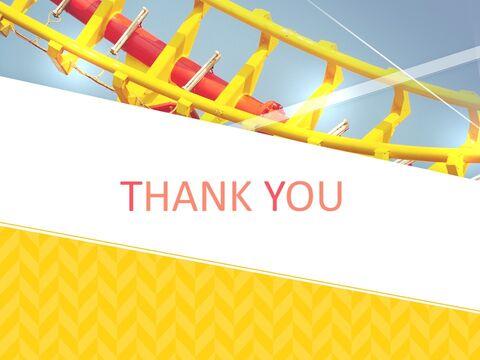 놀이 공원에서 롤러 코스터를 타고 - 구글슬라이드용 무료 이미지_03