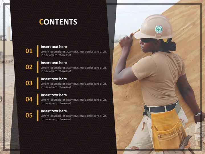 안전 공공 사업 - Google 슬라이드 템플릿 무료 다운로드_02