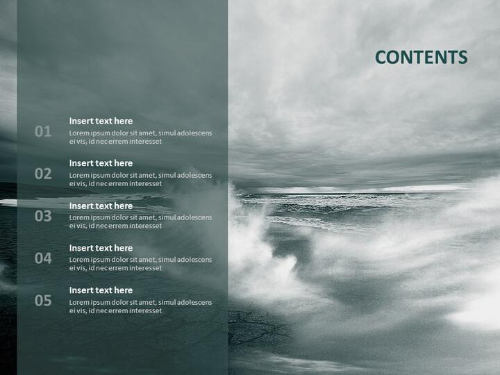 태풍 - Google 슬라이드 템플릿 무료 다운로드_02