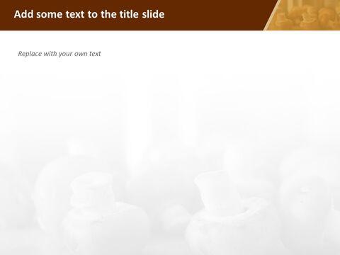 Google 슬라이드 이미지 무료 다운로드 - 신선한 버섯_04