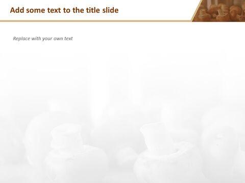 Google 슬라이드 이미지 무료 다운로드 - 신선한 버섯_05