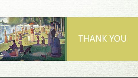 "Google 슬라이드 이미지 무료 다운로드 - Georges Pierre Seurat \""LA Grande Jatte 섬의 일요일 오후\""_06"