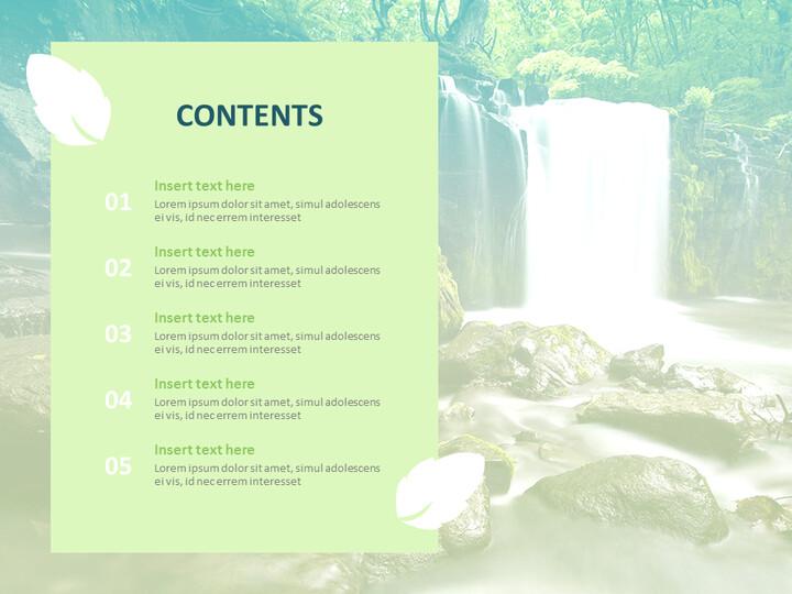 무료 Google 슬라이드 템플릿 - 그린 밸리_02