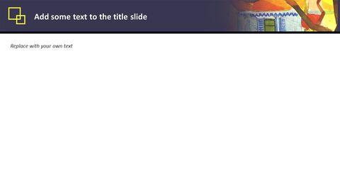 Google 슬라이드 템플릿 무료 다운로드 - 8 월 Macke \