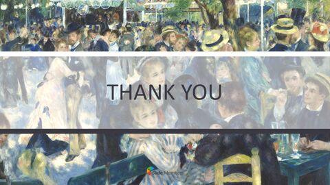"""Pierre-auguste Renoir \""""발 뒤 물랭 데 라 갈레트, 몽마르트르\"""" - 구글슬라이드용 무료 이미지_06"""