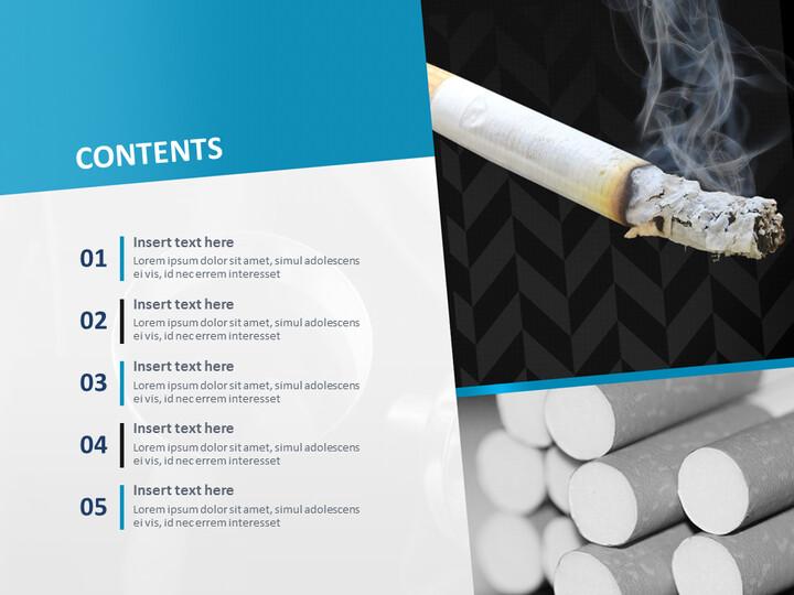 Google 슬라이드 무료 다운로드 - 흡연과 건강_02