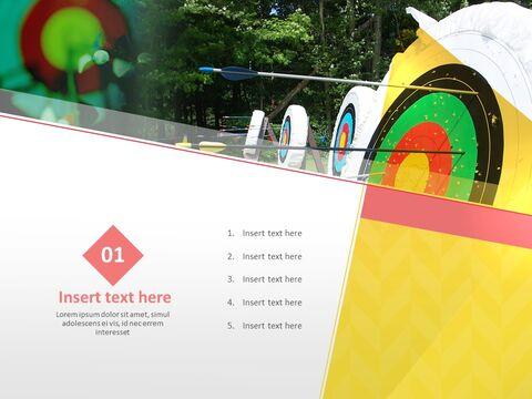 Google 슬라이드 무료 다운로드 - 대상과 양궁_03