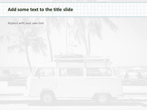 Google 슬라이드 템플릿 무료 다운로드 - 해변에서 캠핑 자동차_04