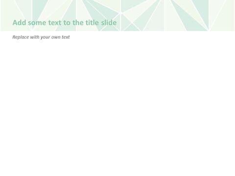 Google 슬라이드 이미지 무료 다운로드 - 파스텔 민트 페이퍼 폴딩_05