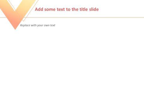 Free 프레젠테이션 템플릿 - 주황색과 노란색, 회색 삼각형으로 그라데이션 된 역 삼각형_05