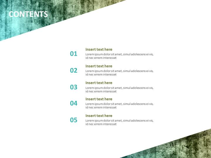 Google 슬라이드 이미지 무료 다운로드 - 청록색 오래 된 텍스처_02