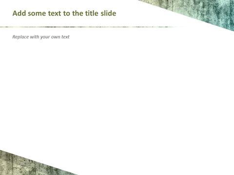 Google 슬라이드 이미지 무료 다운로드 - 청록색 오래 된 텍스처_04