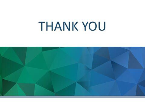 구글 슬라이드 템플릿 무료 다운로드 - 진한 녹색과 진한 파란색 삼각형 패턴_03
