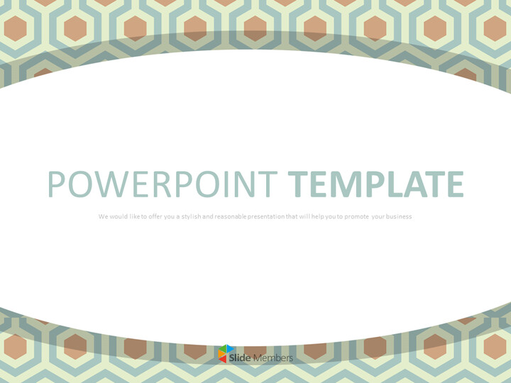 구글 슬라이드 템플릿 무료 다운로드 - 다크 민트 북유럽 스타일 패턴_01