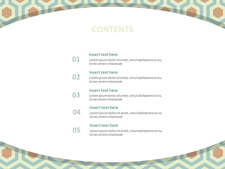 구글 슬라이드 템플릿 무료 다운로드 - 다크 민트 북유럽 스타일 패턴_02