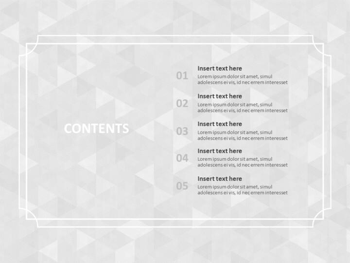 제목 윤곽선이있는 회색 반짝임 배경 - 무료 Google 슬라이드 템플릿_02