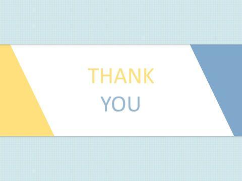 Free 프레젠테이션 템플릿 - 제목 개요 : 파란색과 노란색, 팁 부분 : 삼각형_06