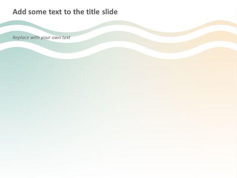 Free 프레젠테이션 템플릿 - 그라데이션 청록색과 상아 빛 파도_05