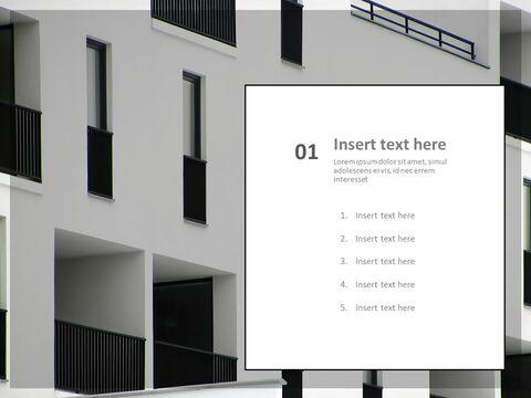 Google 슬라이드 무료 다운로드 - 흑백 Buliding의 Windows_03