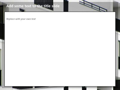 Google 슬라이드 무료 다운로드 - 흑백 Buliding의 Windows_04