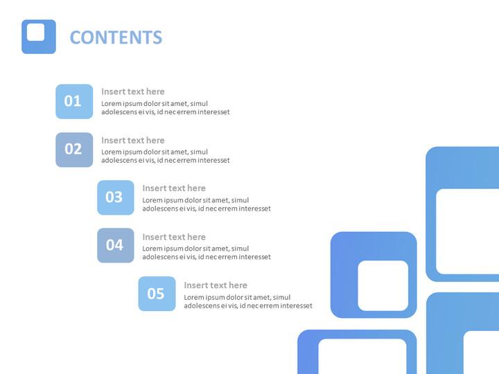무료 Google 슬라이드 템플릿 - 파란색 사각형_02