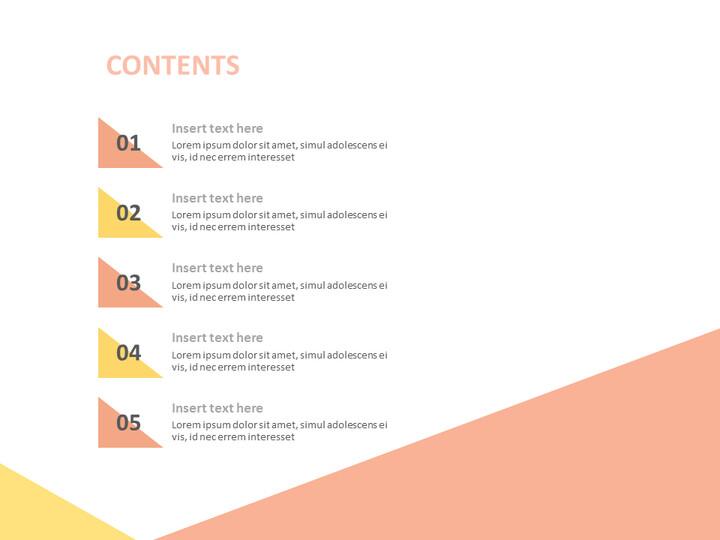 인디 핑크 및 옐로우 배열 - 구글 슬라이드 템플릿 무료 다운로드_02