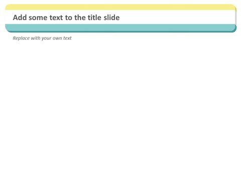민트와 노란 줄무늬 배열 - 무료 Google 슬라이드 템플릿_03