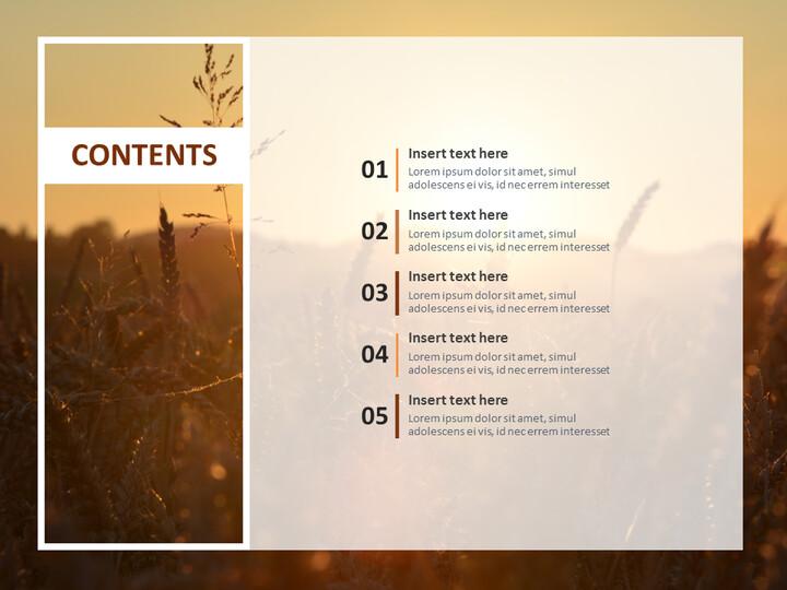 Free Business Google Slides Templates - Golden Fall_02