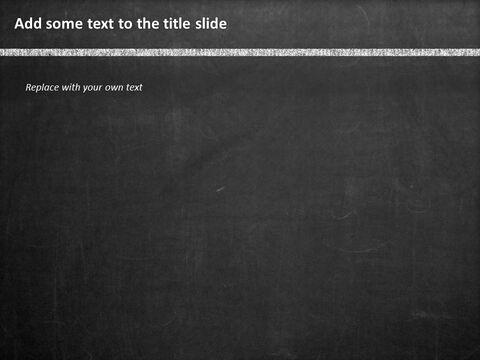 무료 구글 슬라이드 템플릿 디자인 - 칠판 및 어린이 교육_03