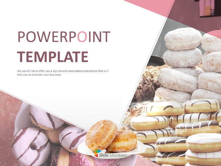Free Professional Google Slides Templates - Sweet Doughnuts_01