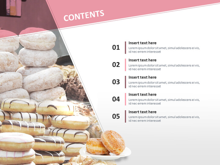 Free Professional Google Slides Templates - Sweet Doughnuts_02