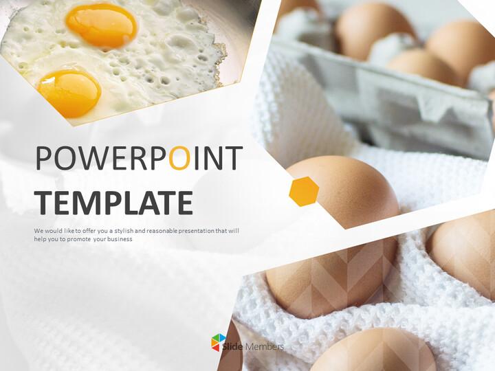 Google 슬라이드 이미지 무료 다운로드 - 계란과 튀긴 계란_01