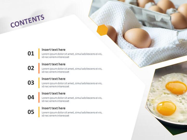 Google 슬라이드 이미지 무료 다운로드 - 계란과 튀긴 계란_02