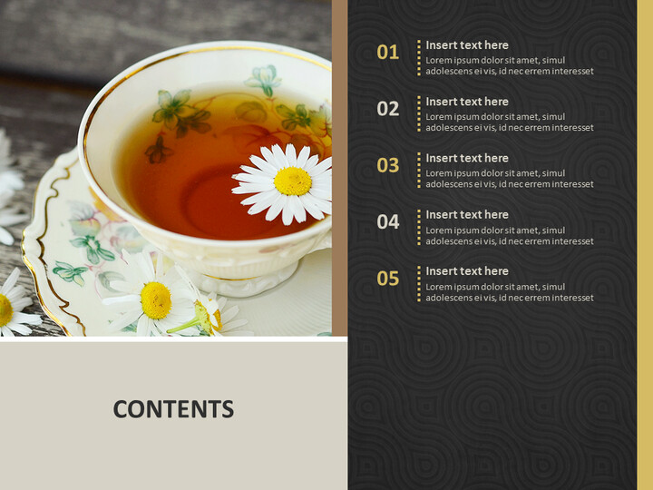 A Cup of Herb TeA - Free Google Slides Templates_02