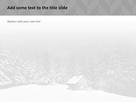 A Hut on the Winter Night - Google Slides Template Free_03