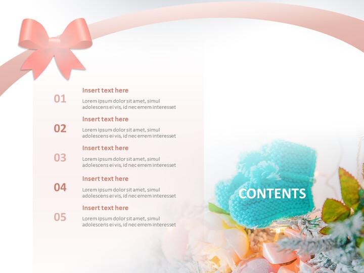 따뜻한 크리스마스 - 전문가 구글슬라이드 무료 템플릿_02