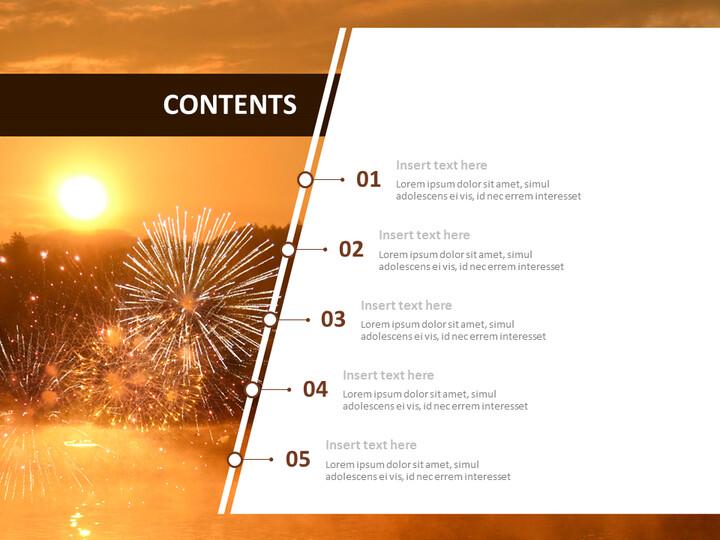 Free Google Slides Template Design - A New-year's <span class=\'highlight\'>Sunrise</span>_02