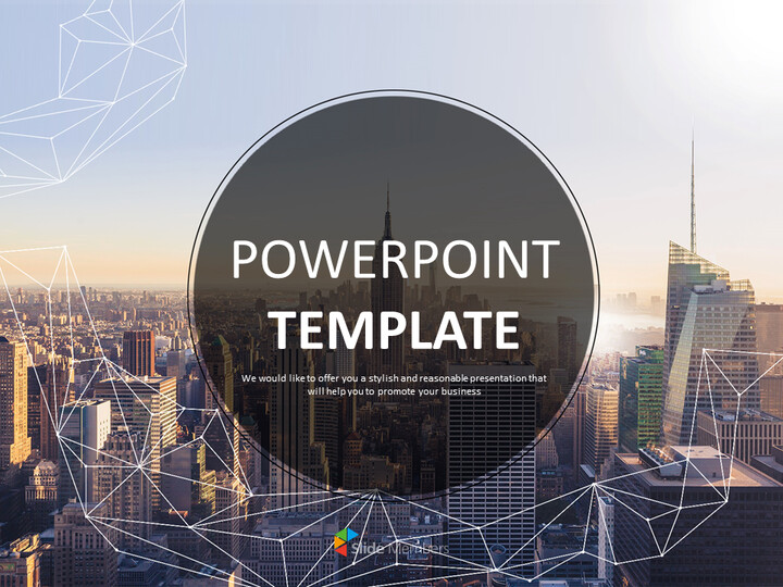 Free Presentation Templates - Buildings and Cities_01