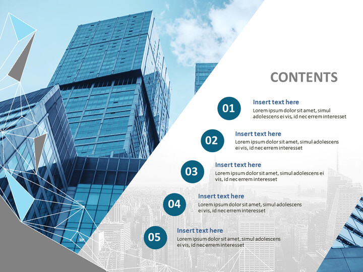 Free Presentation Templates - Buildings and Cities_02
