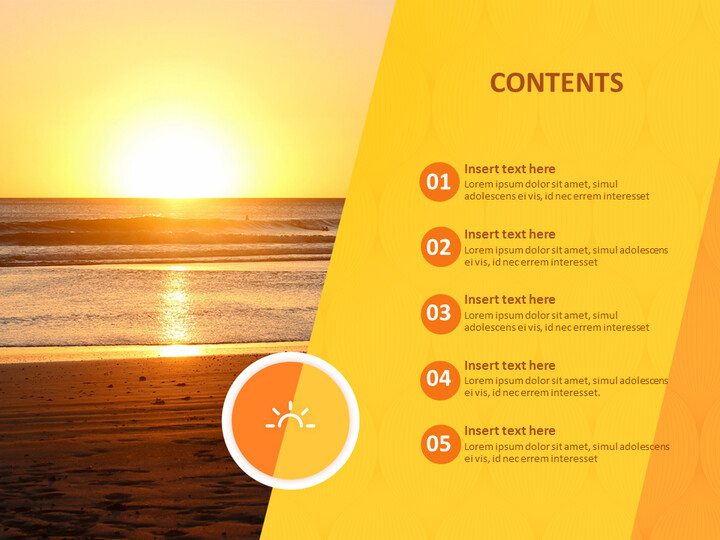 Google Slides Download Free - A New-year <span class=\'highlight\'>Sunrise</span>_02