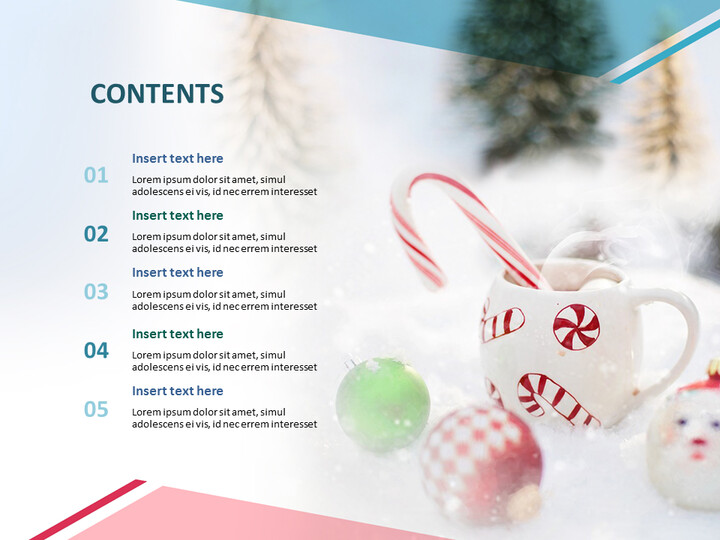 Google 슬라이드 무료 다운로드 - 크리스마스 장식품_02