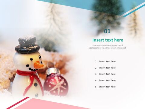 Google 슬라이드 무료 다운로드 - 크리스마스 장식품_03