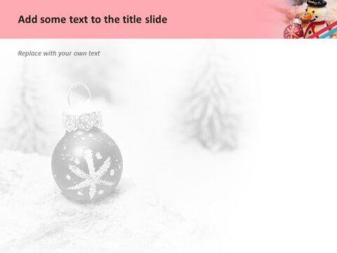 Google 슬라이드 무료 다운로드 - 크리스마스 장식품_05