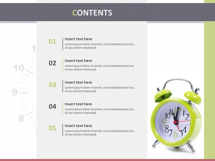 Google 슬라이드 템플릿 무료 다운로드 - 알람 시계_02