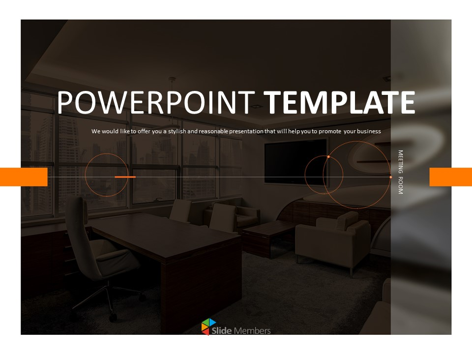A Conference Room Google Slides Template Free Download