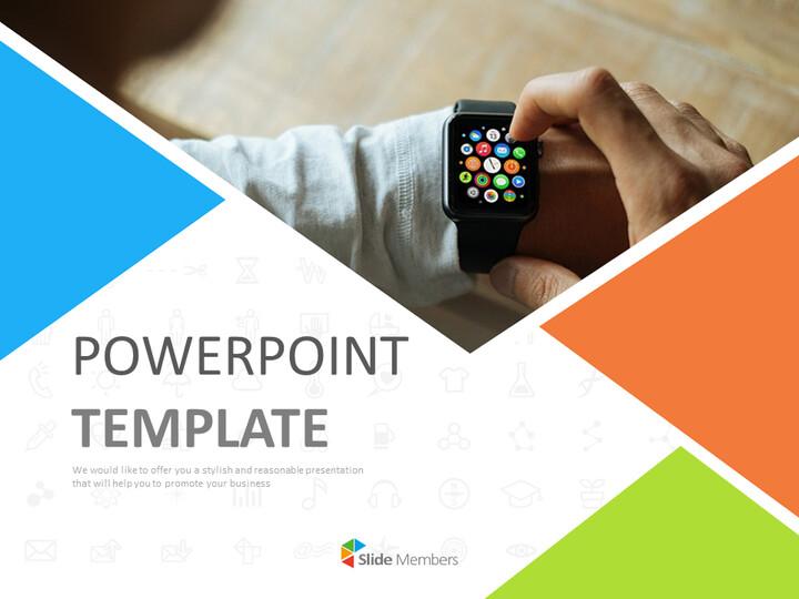 Free Presentation Templates - A Smart Watch_01