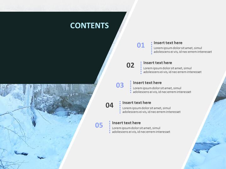 얼음 벽 - 무료 Google 슬라이드 테마_02