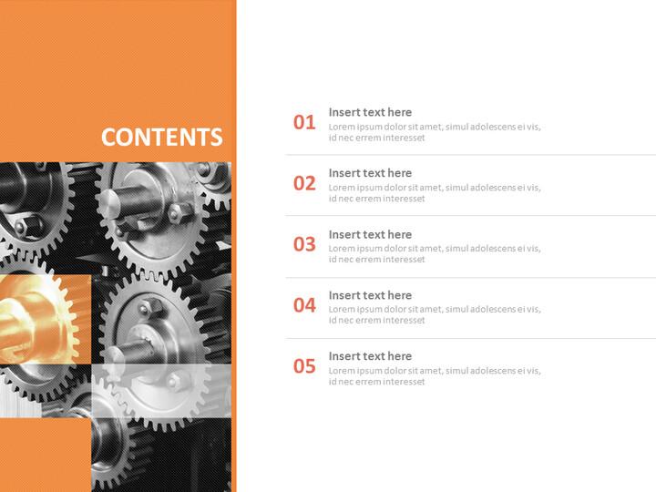 기계 산업 - 무료 Google 슬라이드_02