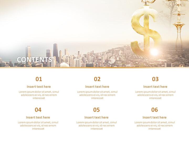 도시와 금융 - 무료 Google 슬라이드 템플릿 디자인_02