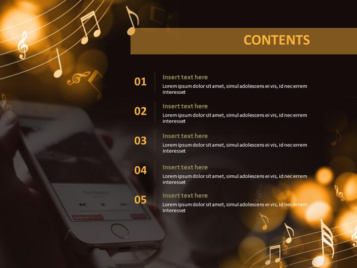 핸드폰 음악 - 무료 Google 슬라이드 템플릿_02